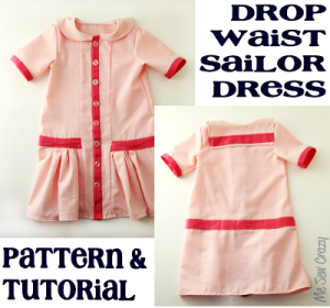 5001c5a46cff 100+  FREE  Dress Sewing Patterns for kids - Best list of tutorials ...