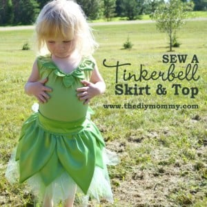 tinker bell costume how to