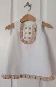 baby dress stitching