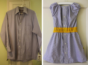 repurposed dress mens shirt