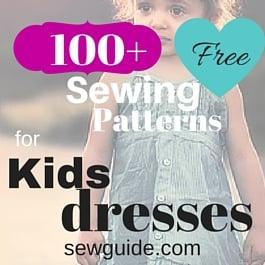 100 Free Dress Sewing Patterns For Kids Best List Of Tutorials