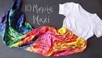 10 minute maxi dress