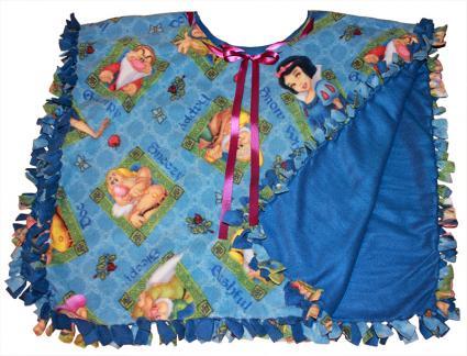 no sew poncho pattern
