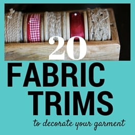 fabric trims