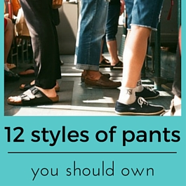 styles of pants