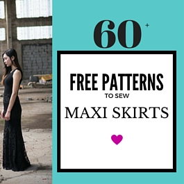 maxi skirt and dress patterns