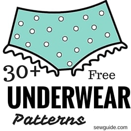 underwear patterns and tutorials