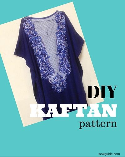 How to make a Kaftan dress or top - FREE Pattern