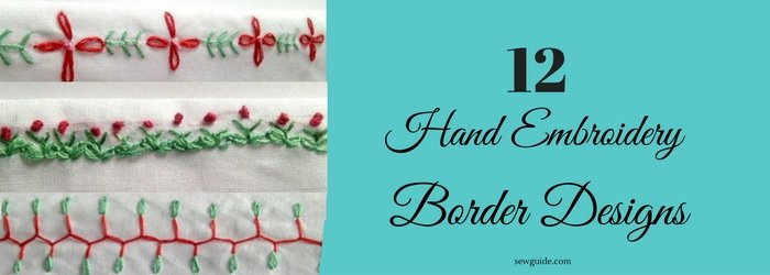 embroidery borders