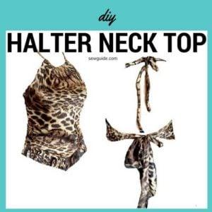 halterneck top diy
