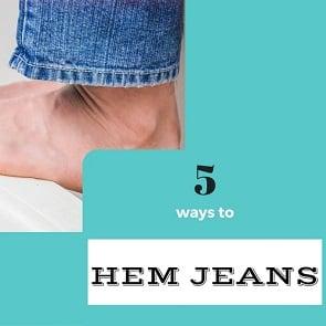 hemming-jeans