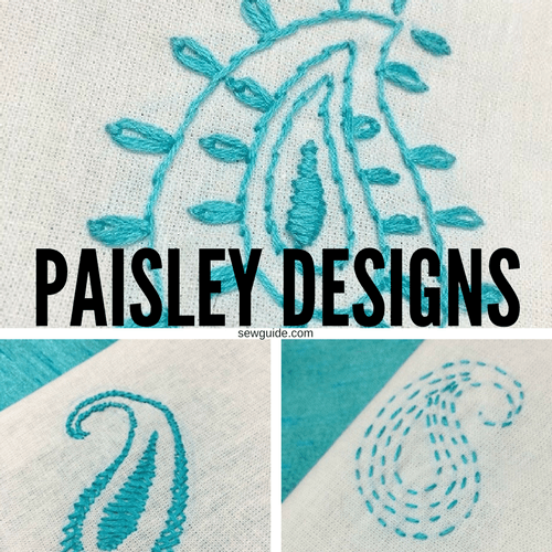 paisley prints and patterns
