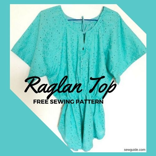raglan top sewing pattern