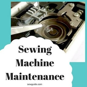 sewing machine maintainence