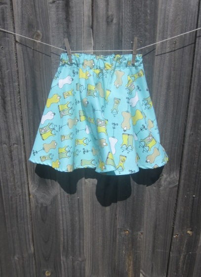 circlular skirt pattern