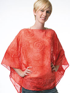 easy fabric poncho