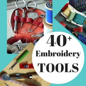 embroidery supplies tools