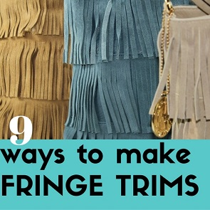 make fringe trims
