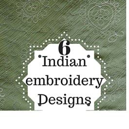 indian embroidery designs