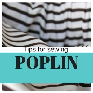 poplin sewing