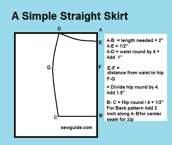 how to sew skirts