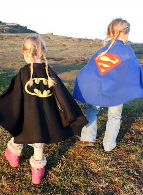 cape poncho pattern for kids
