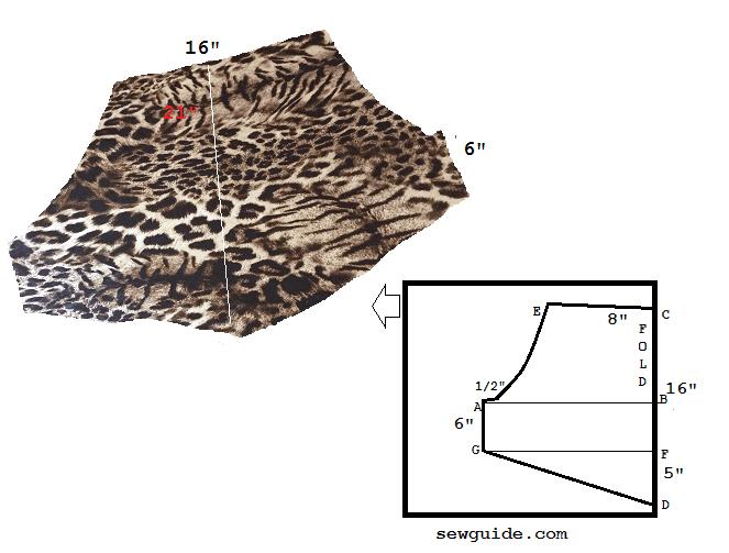 halter neck top pattern