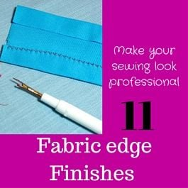 seam fabric edge finishes