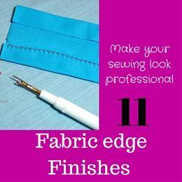 fabric edge finishes