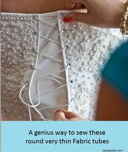 How To Make Perfect Thin Fabric Tubes Sew Guide