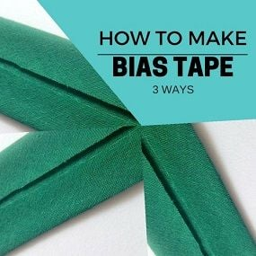 make bias tape