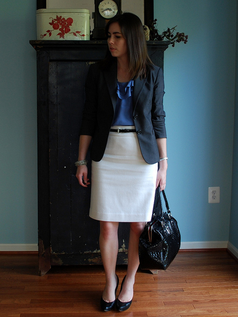 sew an easy pencil skirt