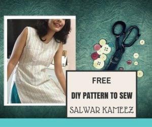 cutting and stitching salwar kameez