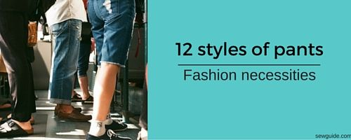 how to wear pants - different styles