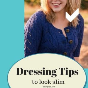 dressing tips to look thin