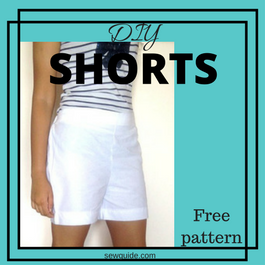 diy shorts pattern