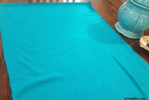 how to sew salwar kameez bottom
