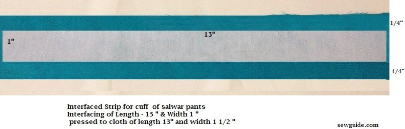 how to sew pants for punjabi suit