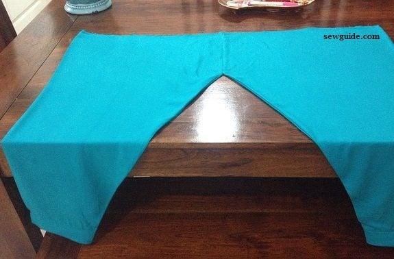 sewing salwar pants