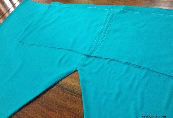 tutorial to stitch pants for churidhar
