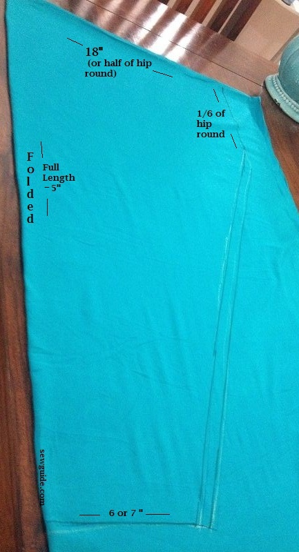 stitching of salwar bottom pants