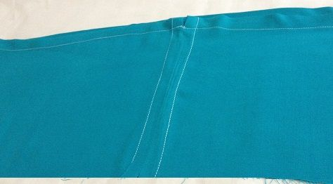 step by step instructions to sew a salwar kameez pant