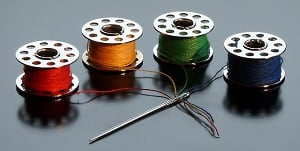 how to select bobbin sewing machine thread