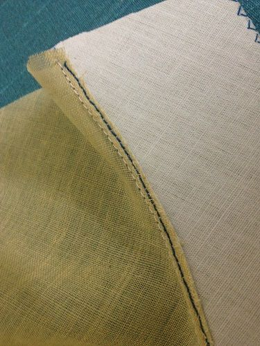 understitching facing