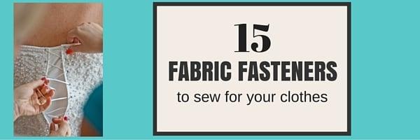 fabric fasteners