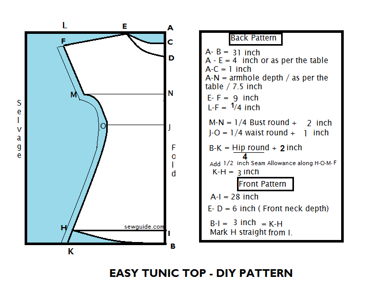 how to sew a tunic