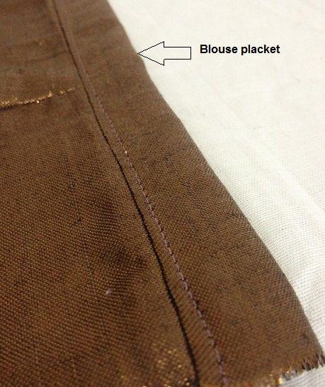 how to sew a sari jacket