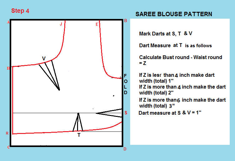 how to stitch a blouse