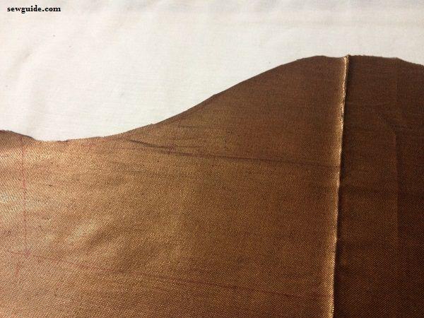 how to stitch a sari blouse