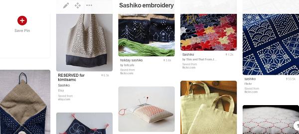 sashiko board